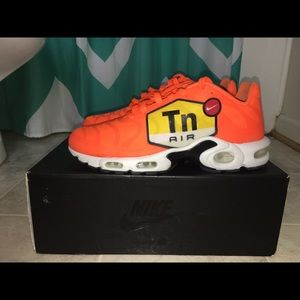 new concept 3af18 dc673 Nike Shoes - Air max plus ns gpx  orange